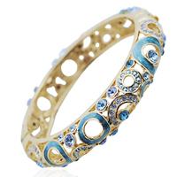 Loulan bracelet fashion crystal vintage cloisonne