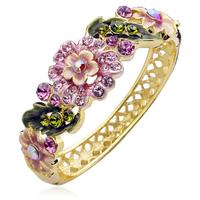 Banxia bracelet fashion crystal vintage cloisonne gift