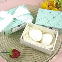 Wholesale  12pcs/lot romantic  shell-shape Soap for Bath Body Wedding Gift scented decorative handmade soap