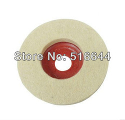 20pcs/set wool felt polishing wheel 100MM angle grinder dedicated free shipping(China (Mainland))