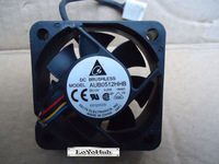 Free Shipping For DELTA 5CM server fan 5015 12V 0.20A AUB0512HHB 4wire