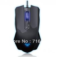 Gaming Mouse AULA 3200DPI DIY LED Breath Light Programming Mice PC Mice Zhuming