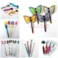 Stationery unisex cartoon pen full needle cartridge pen