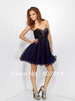2013 Beautiful Girlie Sweetheart Formal Prom Baby Doll By Short Prom Dress