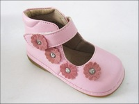 Female child leather female child leather genuine leather shoes slip-resistant 2012 single shoes princess spring and autumn