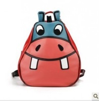 Cartoon animal style primary school students backpack school bag burdens backpack