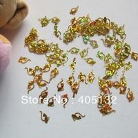GD22-2 Free Shipping Wholesale 100g/bag Gold Cat Glitter Nail art Glitter Pieces Nail art decoration