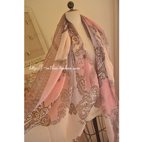 2013 Scarf silk scarf cape fluid sunscreen sun-shading air conditioning cape bohemia cashew flowers  SALE
