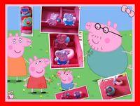 wholesale  Retail Children Baby Headwear Peppa Pig Hair Rope Hairpin Many Styles Peppa Pig Hair Hoop