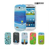 Free Shipping JIMI cartoon Plastic protective hard back case for samsung galaxy s3 i9300