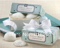 free shipping 10sets/lot Wedding Favors&Gifts Scented Soap sea shell Shape,Baby Shower Favor Gift