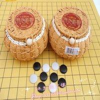 Free Shipping Two-element straw braid fine porcelain chinese chess scrub qiziwan imitation cloth chessboard