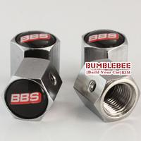 Free shipping!(4PCS)metal Tire Valve Stem Caps easy DIY decoration,Car Logo emblem Anti-theft Tire Valve Caps for BBS,VC183