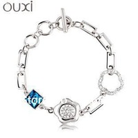 New style hot sale fashion bracelet made with Swarovski Elements 30147 free shipping