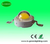 wholesale 1w high power led lamp beads with Epistar chip with factory supply free shipping