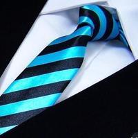 striped Slim Ties Skinny Tie Men's necktie Polyester fashion neckties check bowties butterfly