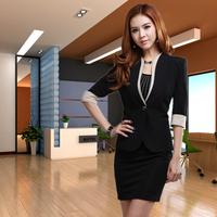 2013 summer work wear women fashion blazer ol suit outerwear slim work wear