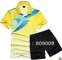 The new summer 2013, li ning lovers suit men and women wear short sleeve T-shirt with short sleeves shorts suit men's movement#6
