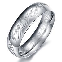 MAN'S Fashion accessories BRIEF titanium FINGER ring gj324