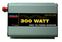 300W Micro Grid Tie Inverter for Solar Power, DC 10.5V-30V to AC 100V 110V 120V  220V,230V,240V , MPPT