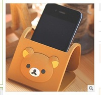 Free shipping Rilakkuma Relax easy Bear phone Cell phone Mobile Stand Holder Mount 2PCS/LOT