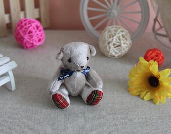 Plush toy joint bear teddy bear bouquet gift smoky grey birthday gift kid minnie stitch baby stuffed toy 1