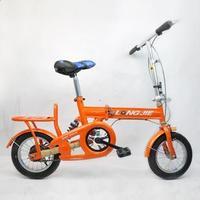 Bicycle 12 square tube folding bike folding bicycle bike bmx