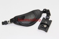 Camera Leather Hand Grip wrist strap Belt for canon NIKON sony A550 A500 A450 dslr