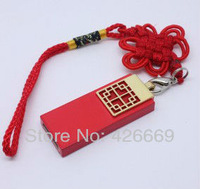 Free shipping to retail and wholesale real capacity 2GB 4GB 8GB 16GB 32G 64G Chinese knot USB flash drive
