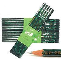 Free Shipping Pencil drawing pencil 12pcs/set carpenter 2H Pencil Wood Black