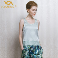 Voa silk vest silk women's fashion mulberry silk spaghetti strap b1032