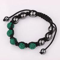 Shamballa jewelry Wholesale, free shipping, New Shamballa Bracelets Micro Pave CZ Disco Ball Bead Shamballa Bracelet kbfd gssj