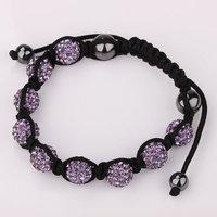 Shamballa jewelry Wholesale, free shipping, New Shamballa Bracelets Micro Pave CZ Disco Ball Bead Shamballa Bracelet gbtb fwxm