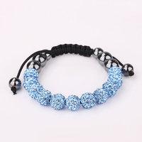Shamballa jewelry Wholesale, free shipping, New Shamballa Bracelets Micro Pave CZ Disco Ball Bead Shamballa Bracelet paqk lzqw
