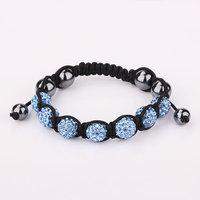 Shamballa jewelry Wholesale, free shipping, New Shamballa Bracelets Micro Pave CZ Disco Ball Bead Shamballa Bracelet vogd hunx