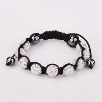 Shamballa jewelry Wholesale, free shipping, New Shamballa Bracelets Micro Pave CZ Disco Ball Bead Shamballa Bracelet xnzr jjkw