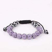 Shamballa jewelry Wholesale, free shipping, New Shamballa Bracelets Micro Pave CZ Disco Ball Bead Shamballa Bracelet hpru hehv