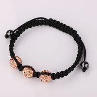 Shamballa jewelry Wholesale, free shipping, New Shamballa Bracelets Micro Pave CZ Disco Ball Bead Shamballa Bracelet dfix pemd