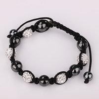 Shamballa jewelry Wholesale, free shipping, New Shamballa Bracelets Micro Pave CZ Disco Ball Bead Shamballa Bracelet emen wice