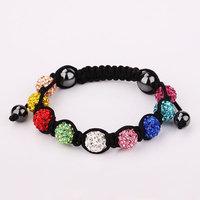 Shamballa jewelry Wholesale, free shipping, New Shamballa Bracelets Micro Pave CZ Disco Ball Bead Shamballa Bracelet bvrr mmwq