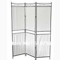 Iron & Canvas Privacy Screen Small - Pewter,free shipping