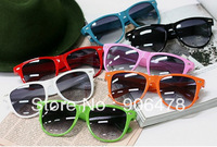 Wholesale 5Pcs/Lot 12 Colors 2013 Fashion Sunglass Women SunGlasses Brand Designer Sunglasses Free Shipping