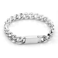 Male denim bracelet 925 pure silver male fashion lovers silver jewelry bracelet brief vintage