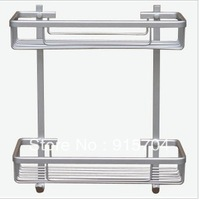Free Shipping! aluminum bathroom accessories shelf