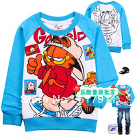 Wholesale -Free shipping 2013 new style children T-shirt, children's long sleeve T-shirt baby boys t shirt Children's t-shirts