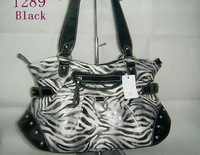 Free shipping  Fashion Popular Handbag Bag Purse Zebra  Shoulder 004