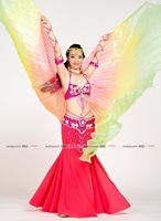 very sex New arrival Egypt Costume Isis Belly Dance Wings Dance Wear Wing free shipping