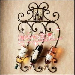 Fashion iron wine rack shelf wine cooler wine rack(China (Mainland))