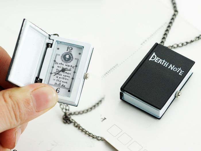 Gift notebook flip necklace pocket watch female fashion
