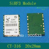 GPS module / SIRF3 module / Size 20X28MM / Universal ET316 EB707 ET312 etc.